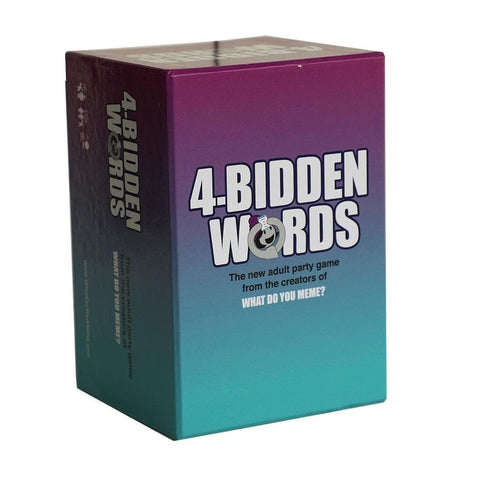4 Bidden Words