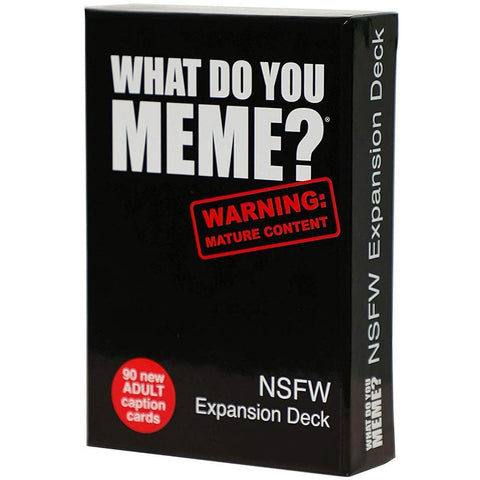 NSFW What Do You Meme Product Image