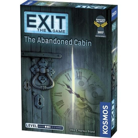 Exit The Abandoned Cabin Escape Room Board Game front image