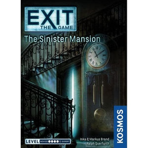 Exit The Sinister Mansion Escape Room Board Game front image