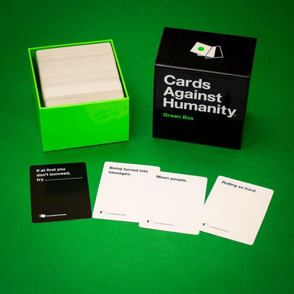 Green Box Cards Against Humanity