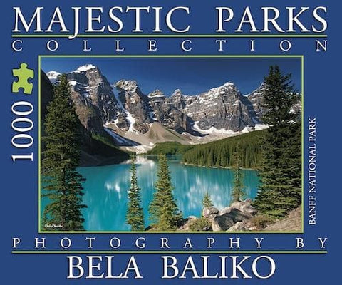 Majestic Parks Moraine Lake - Calendar Club of Canada - 1