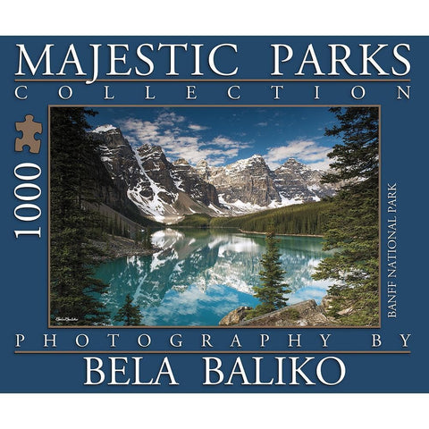 Moraine Lake Nature Puzzle 1000 Piece