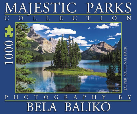 Maligne Lake 1000 Pc Puzzle