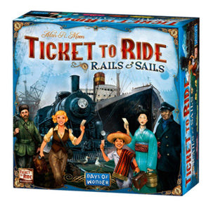 Ticket to Ride Rails and Sails Strategy Game