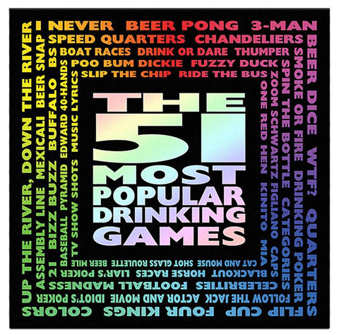 51 of the Most Popular Drinking Games - Calendar Club of Canada - 1