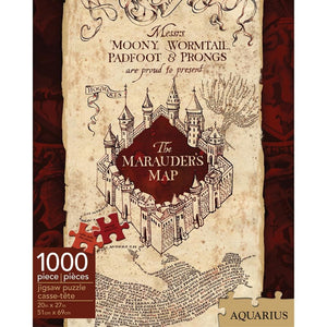 Marauders Map Harry Potter Puzzle 1000 Piece