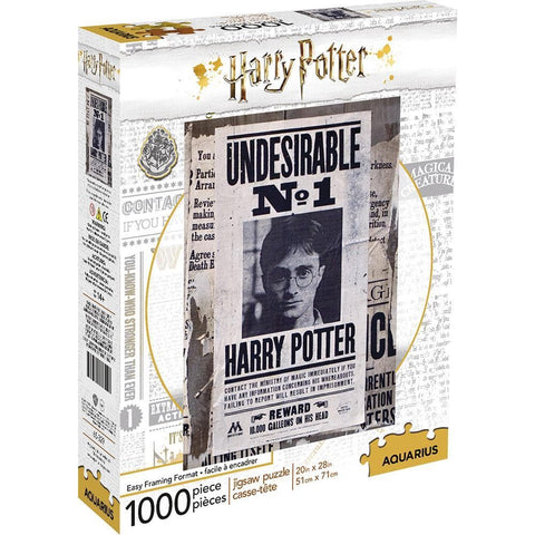 Harry Potter Undesireable Movie Puzzle 1000 Piece