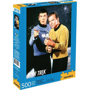 Star Trek Spock and Kirk 500 pc Puzzle