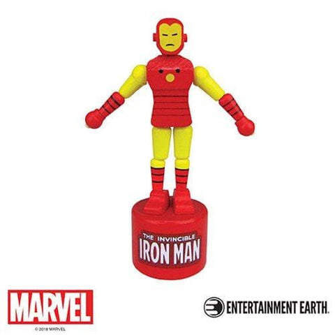 Iron Man Push Puppet