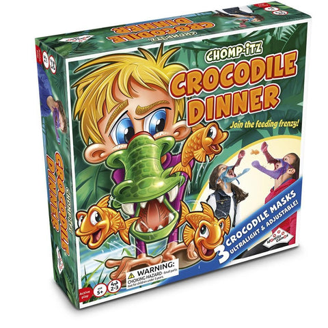 Chomp It Crocodile Dinner Front Image