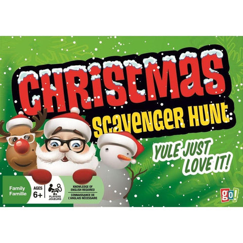 Christmas Scavenger Game