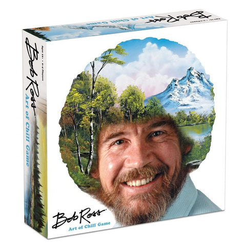 855607007040 Bob Ross Art of Chill Big G Creative - Calendar Club1