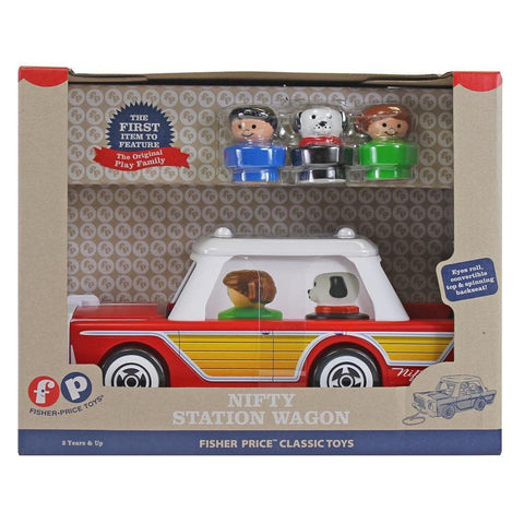 885561021813 Nifty Station Wagon Fisher Price Bridge Direct - Calendar Club1