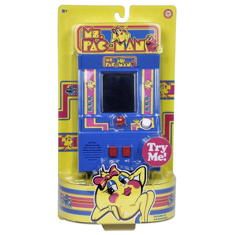 885561096149 Ms Pac Man Mini Arcade Game Bridge Direct - Calendar Club1