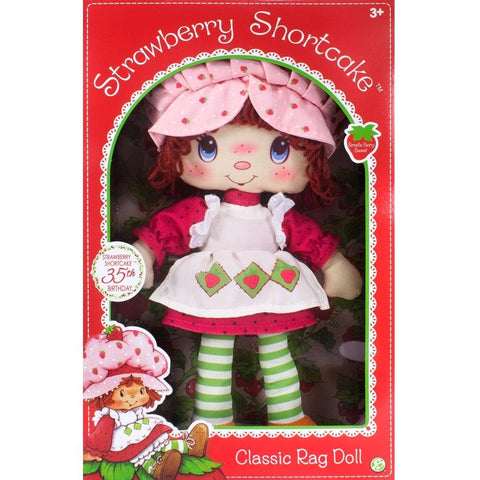 Classic Strawberry Shortcake Rag Doll