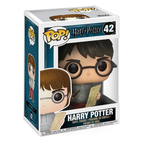 889698149365 POP Harry Potter with Marauders Map Funko - Calendar Club1