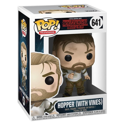 889698310222 POP TV Stranger Things S2 W5 Hopper with Vines Funko - Calendar Club1