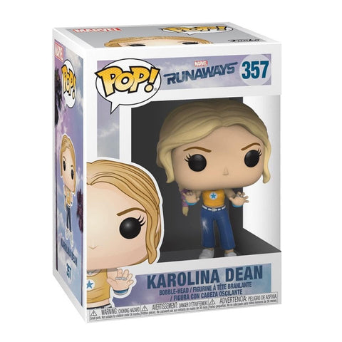 Karolina Dean POP Marvel Runaways