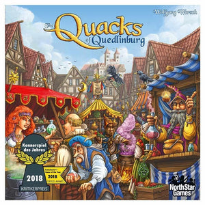 Quacks of Quedlinburg Family Board Game