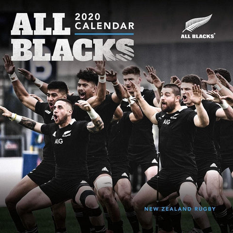 All Blacks 2020 Wall Calendar