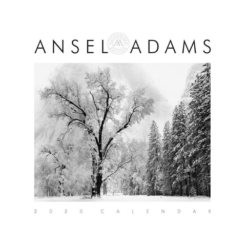 Ansel Adams 2020 Wall Calendar Front Cover