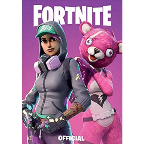 Fortnite Purple Notebook