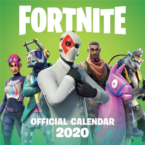 Fortnite 2020 Wall Calendar Front Cover