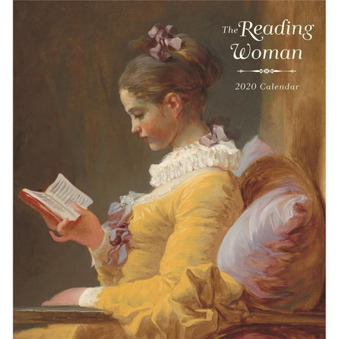 Reading Woman 2020 Wall Calendar Front Cover