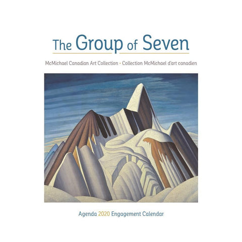 Group of Seven 2020 Engagement Calendar Front Cover