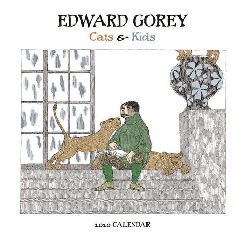 Edward Gorey 2020 Mini Calendar Front Cover