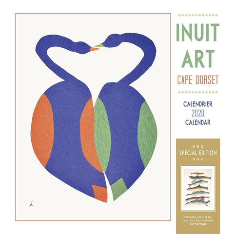Inuit Art Cape Dorset 2020 Special Edition Wall Calendar Front Cover