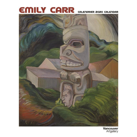 Emily Carr 2020 Wall Calendar Front Cover