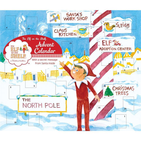 9780789332172 The Elf on the Shelf 2019 Advent Calendar Universe Publishing - Calendar Club1