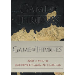 Game of Thrones Executive 2020 Engagement Calendar Front Cover