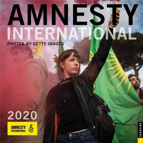 Amnesty International 2020 Wall Calendar Front Cover