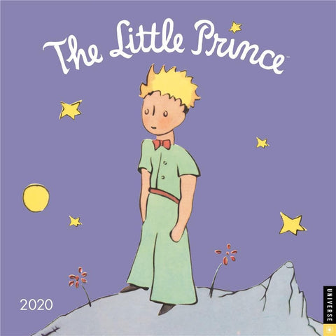 Little Prince 2020 Wall Calendar Front Cover