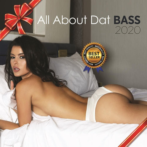 All About Dat Bass 2020 Wall Calendar Front Cover