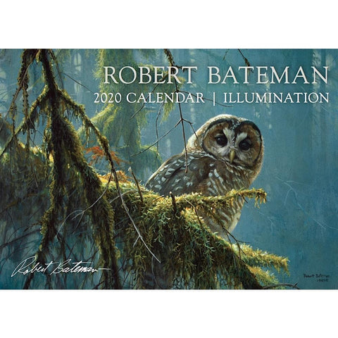 Robert Bateman Illumination 2020 Wall Calendar Front Cover