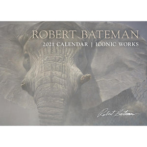 Robert Bateman Illumination 2021 Wall Calendar Front Cover