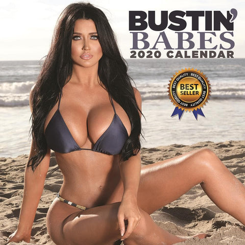 Bustin Babes 2020 Wall Calendar Front Cover