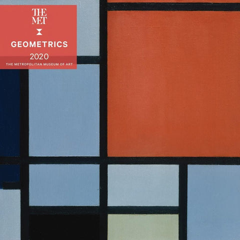 Geometrics 2020 Wall Calendar Front Cover