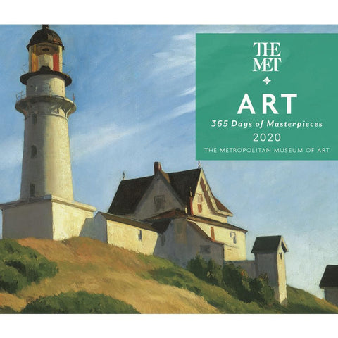 365 Days of Art MET 2020 Box Calendar Front Cover