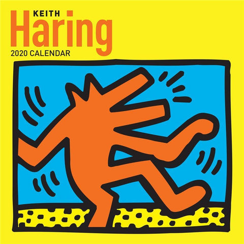 Keith Haring 2020 Wall Calendar Front Cover