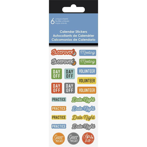 9781438865591 Family 2019 Calendar Reminder Stickers Trends International - Calendar Club