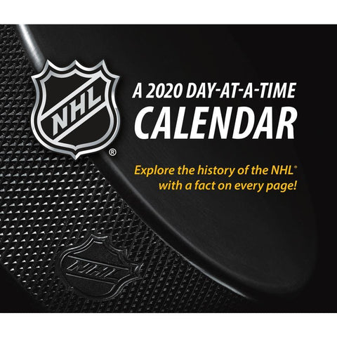 NHL 2020 Box Calendar Front Cover
