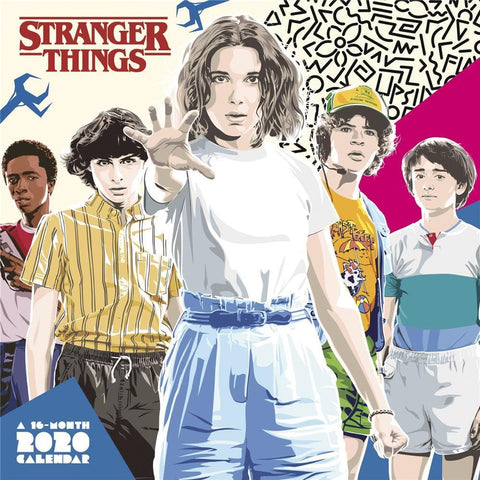 Stranger Things 2020 Mini CalendarFront Cover