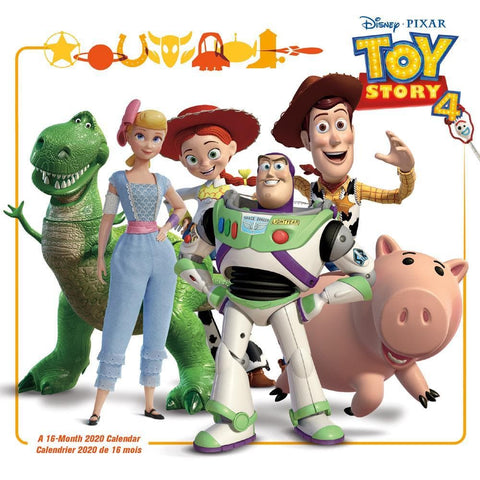 Toy Story 4 2020 Mini Calendar Front Cover