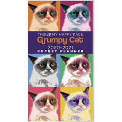 Grumpy Cat 2020 2 yr Pocket Planner Calendar Front Cover