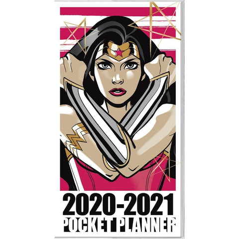 Wonder Woman 2020 2 yr Pocket Planner Calendar Front Cover